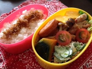 弁当作り〜*\(^o^)/*