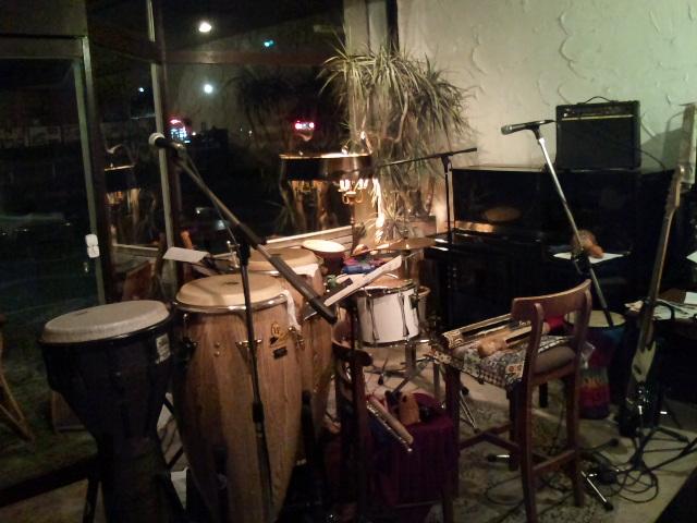 太鼓がいっぱい