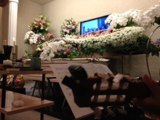 葬儀でCM(^^;;
